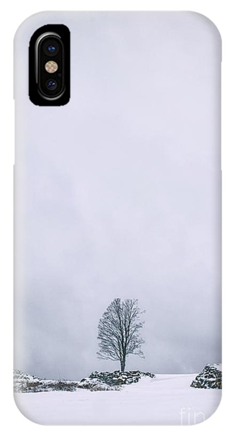 Kremsdorf IPhone X Case featuring the photograph Elements Of Silence by Evelina Kremsdorf