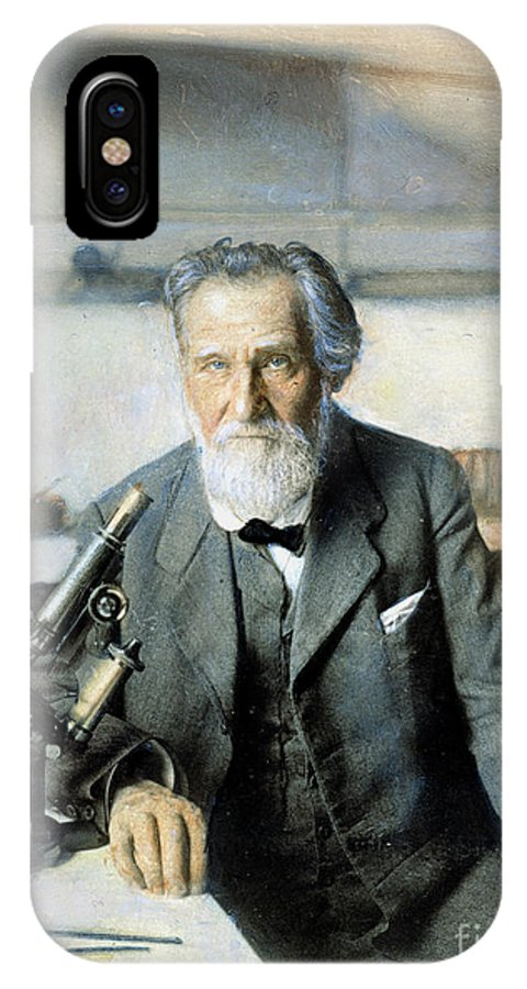 20th Century IPhone X Case featuring the photograph Elie Metchnikoff (1845-1916) by Granger