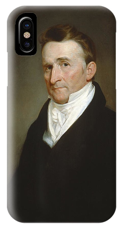IPhone X Case featuring the painting Eliphalet Terry by Samuel Finley Breese Morse