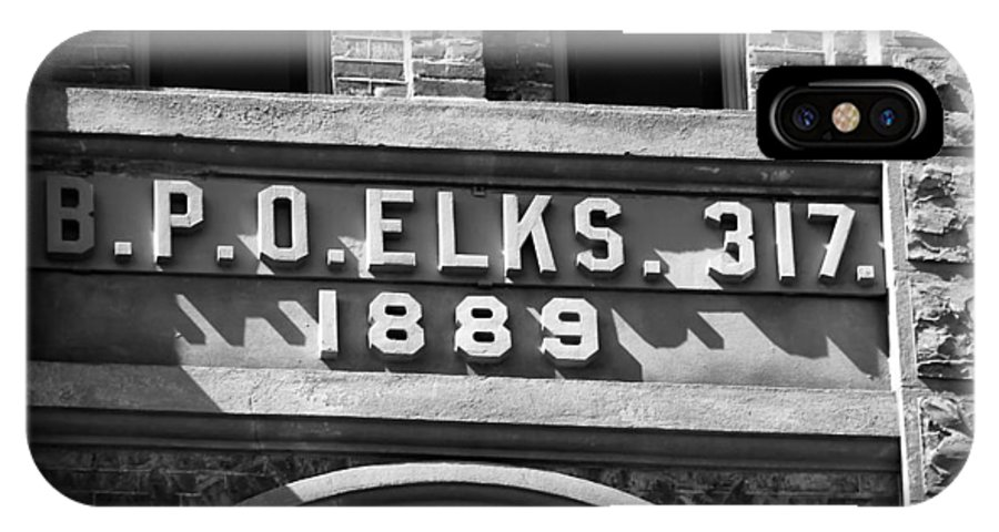 Elks IPhone X Case featuring the photograph Elks Building 1889 by David Lee Thompson