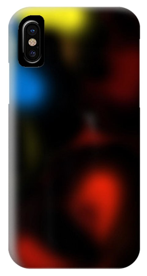 Abstract IPhone Case featuring the digital art Embrios by Joshua Sunday