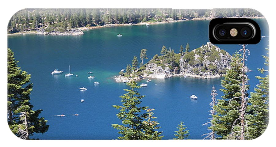 Emerald Bay IPhone X Case featuring the photograph Emerald Bay by Carol Groenen