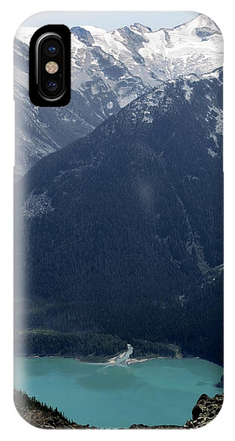 Whistler IPhone X Case featuring the photograph Emerald Cheakamus Lake Whistler Canada by Pierre Leclerc Photography