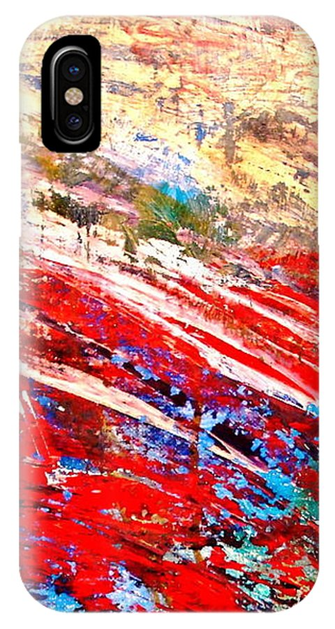 Expressionism IPhone Case featuring the painting Emotional Explosion by Natalie Holland