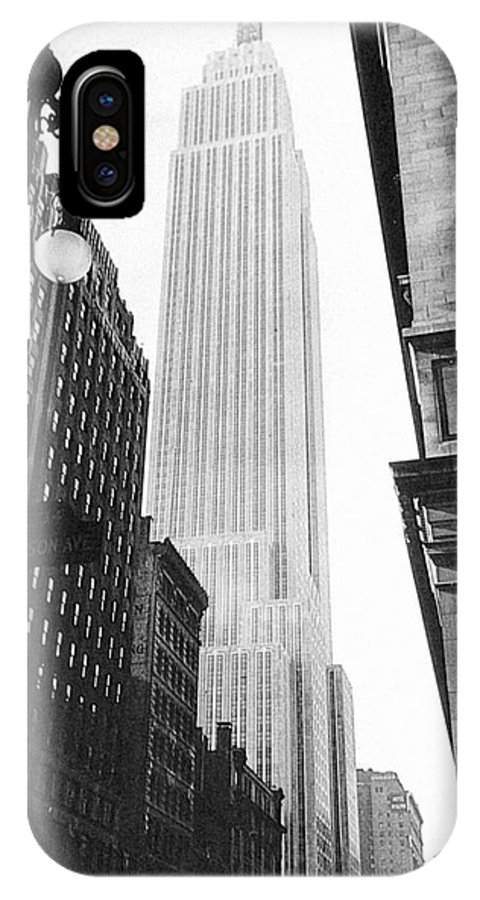 1931 IPhone X Case featuring the photograph Empire State Building, 1931 by Granger
