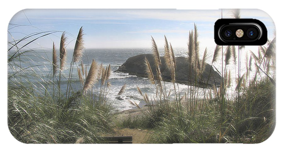 Ocean IPhone X Case featuring the photograph Empty Seat by Karen W Meyer