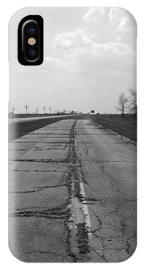 Landscape IPhone X Case featuring the photograph End of the Road by Dylan Punke