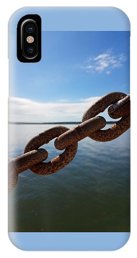 Nautical Photography IPhone X Case featuring the photograph Endless Chain Of Hope by Sanctuary of Words Gallery