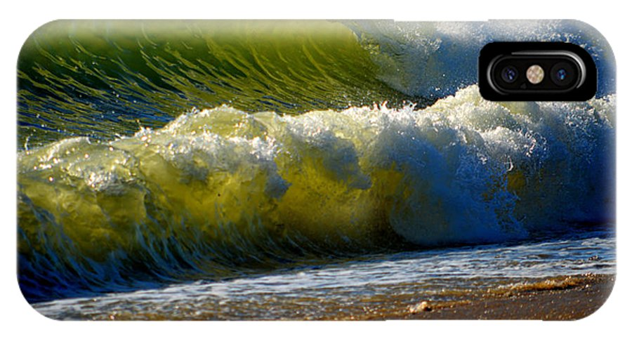 Ocean IPhone X Case featuring the photograph Energy Of The Sea by Dianne Cowen