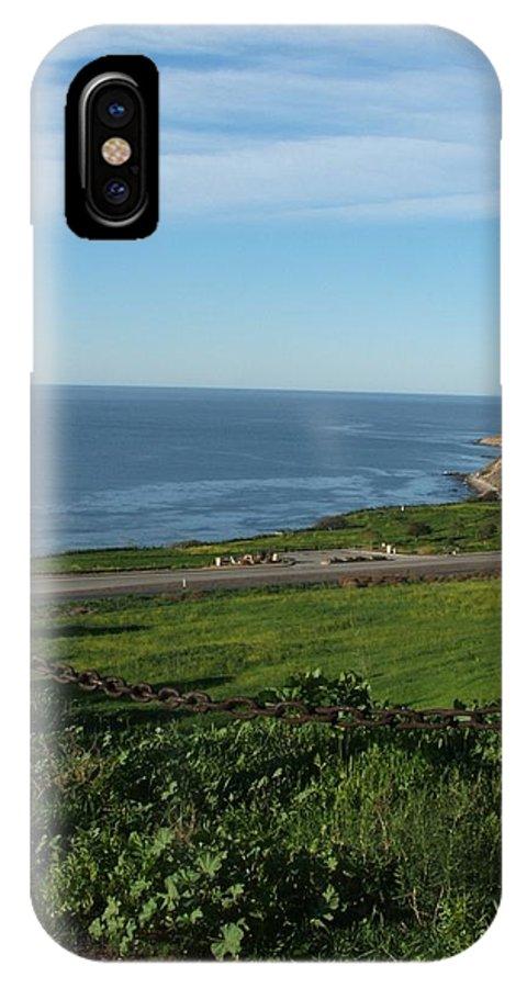 Ocean IPhone X / XS Case featuring the photograph Enjoying The View by Shari Chavira