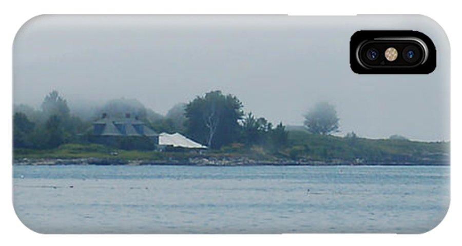 Island IPhone Case featuring the photograph Enshrouded by Faith Harron Boudreau