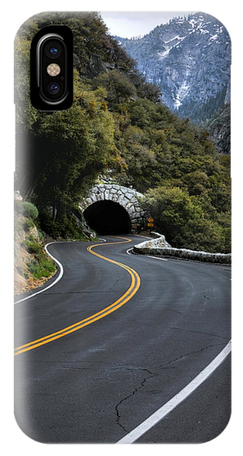 Americas Best Idea IPhone X Case featuring the photograph Entrance To The Valley by David Andersen
