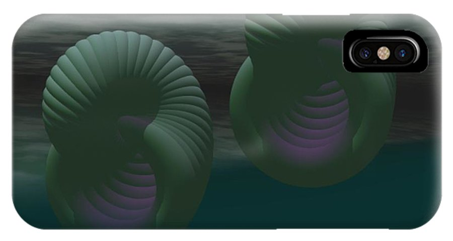 Envy IPhone Case featuring the digital art Envy by Gina Lee Manley