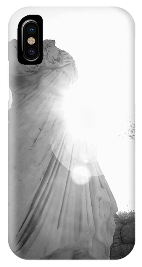 Statue IPhone X Case featuring the photograph Ephesian Statue by Jennifer Kelly