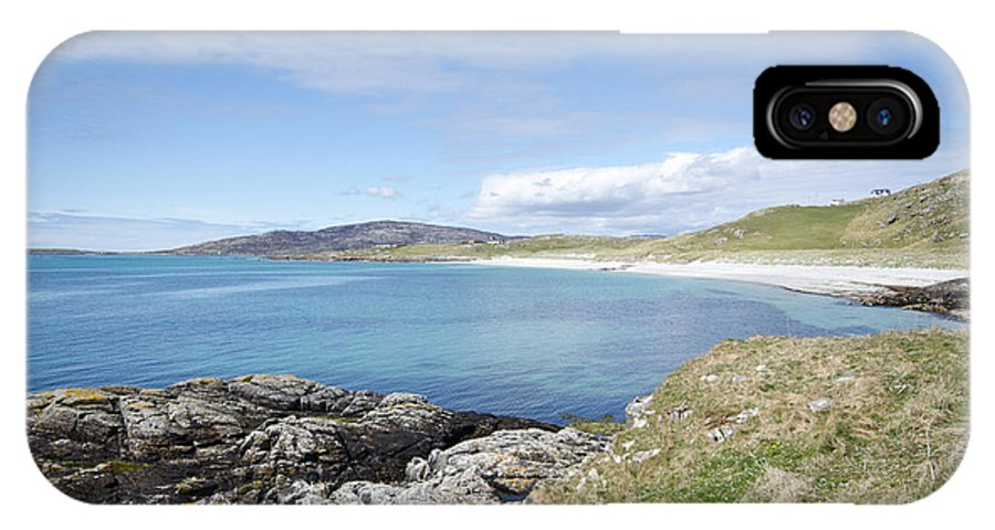 Eriskay IPhone X Case featuring the photograph Eriskay Bay by Smart Aviation