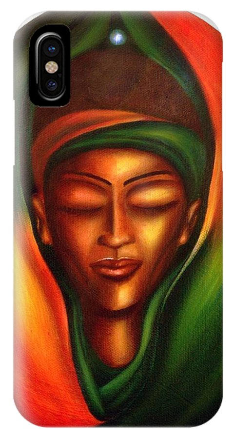 Beauty IPhone Case featuring the painting Essence by Lee Grissett