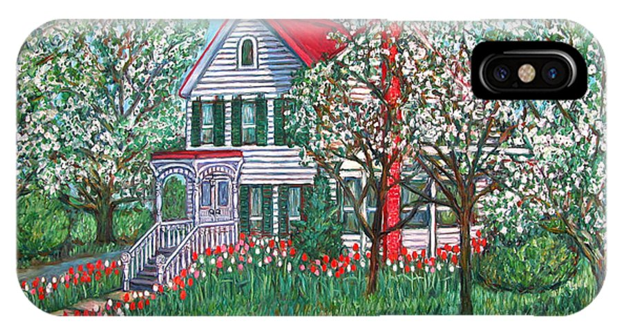 Home IPhone Case featuring the painting Esther's Home by Kendall Kessler