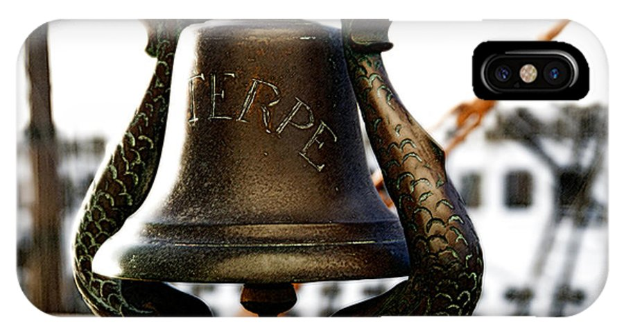 Euterpe IPhone X Case featuring the photograph Euterpe Bell by Linda Shafer