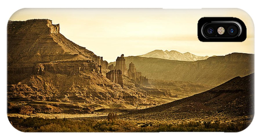 Americana IPhone Case featuring the photograph Evening In The Canyon by Marilyn Hunt