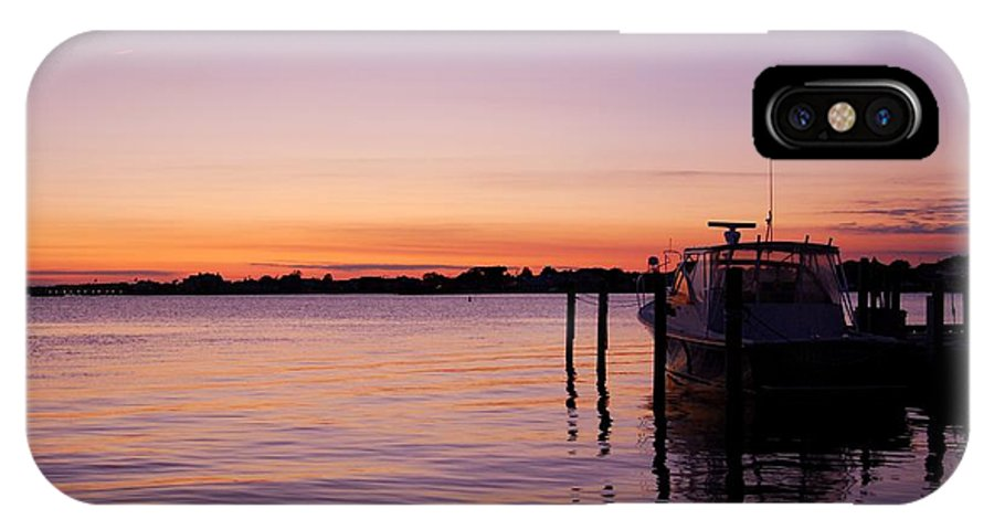 Jersey Shore IPhone X Case featuring the photograph Evening Of Peace - Jersey Shore by Angie Tirado