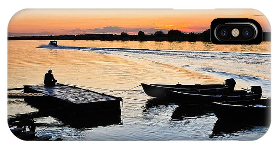 Evening IPhone X Case featuring the photograph Evening Relaxation by Catalin Pomeanu