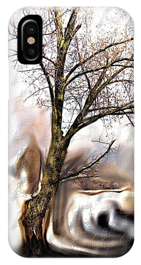 Landscape IPhone X Case featuring the digital art Everlasting by Crystal Webb
