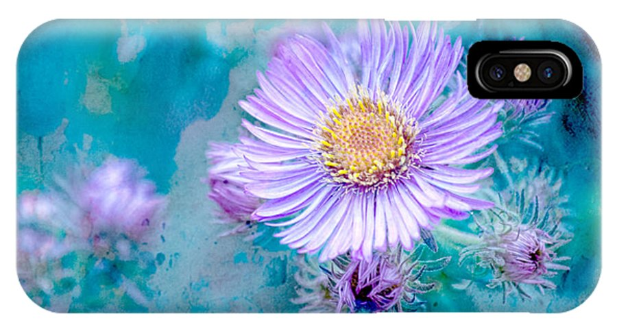 Lavender Flowers IPhone X / XS Case featuring the photograph Every Good Gift by Bonnie Bruno