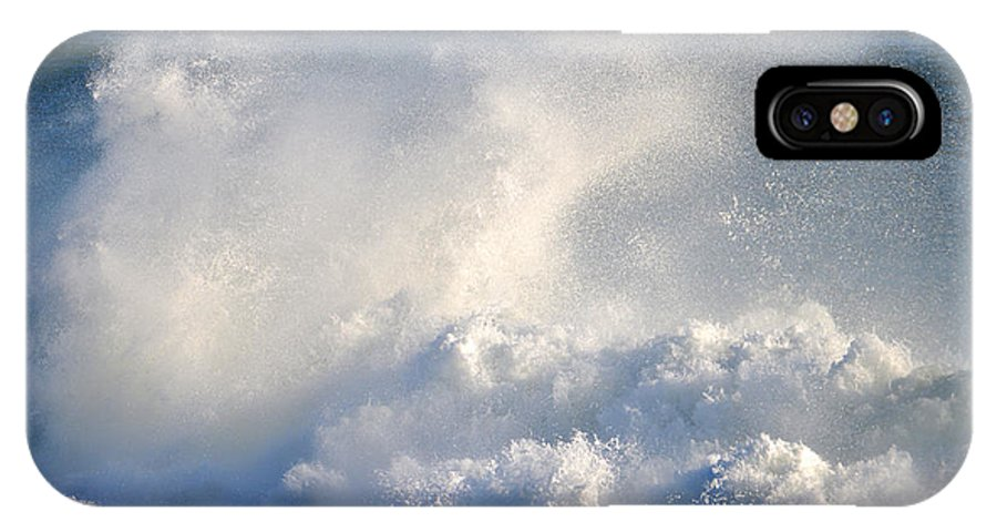 Ocean IPhone X Case featuring the photograph Exhilaration by Dianne Cowen