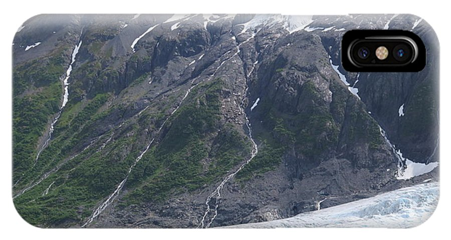Kenai Fjords National Park IPhone X Case featuring the photograph Exit Glacier by Chris Lucy