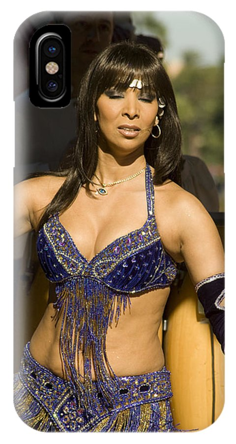 Beautiful IPhone X Case featuring the photograph Exotic Dancer by Carl Purcell