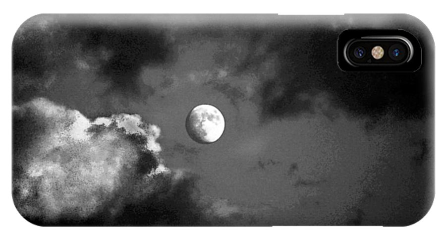 Sky IPhone X Case featuring the photograph Eye In The Sky by Steve Karol