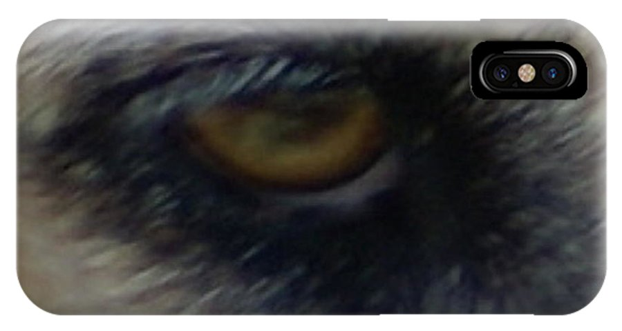 Eyes IPhone X Case featuring the photograph Eye Of The Beholder by Debbie May