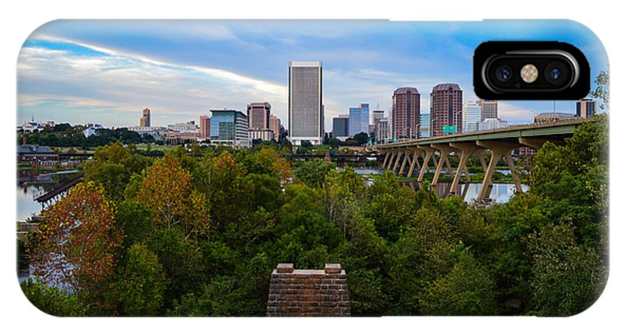 Richmond IPhone X Case featuring the photograph Fall Approaching In Richmond by Aaron Dishner