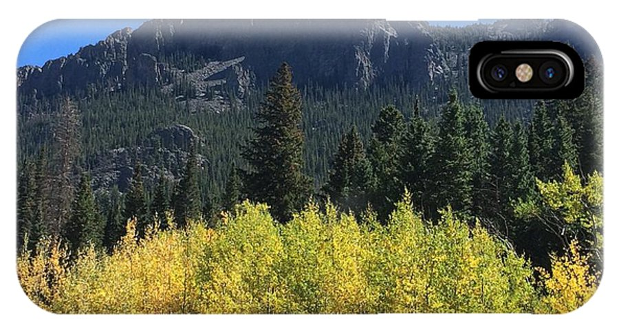 Landscape IPhone X Case featuring the photograph Fall At Twin Sisters by Kristen Anna