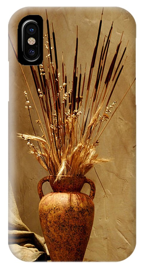 Fall IPhone Case featuring the photograph Fall In A Vase Still-life by Christine Till