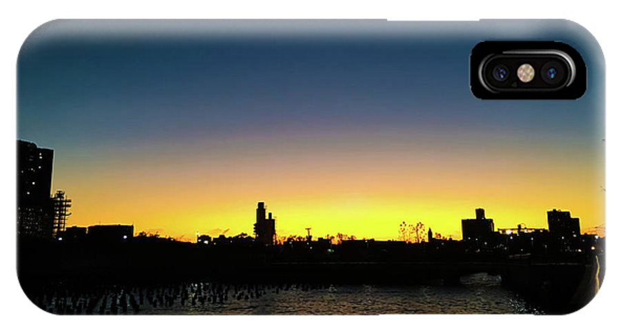 Sunset IPhone X Case featuring the photograph Fall Sunset In Nj by Vartika Singh