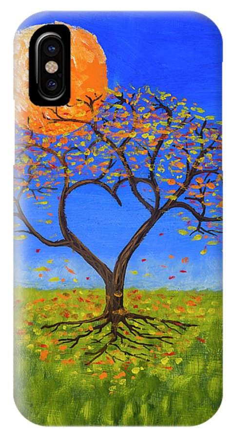 Love IPhone Case featuring the painting Falling For You by Jerry McElroy