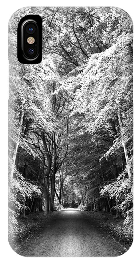 Abstract IPhone X Case featuring the photograph Fantasy Land by Svetlana Sewell