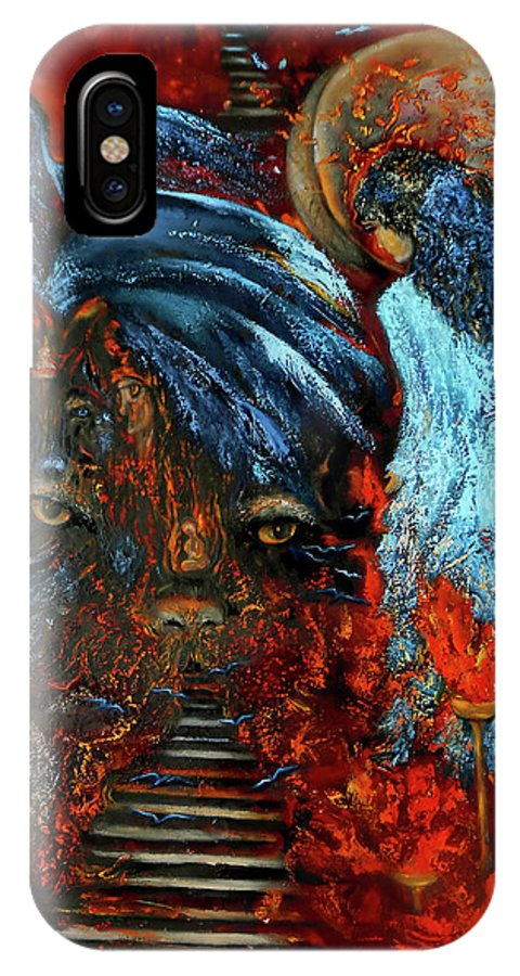 Surreal Art Totem Animal, Wall Art Oil Abstract Surreal Painting ...
