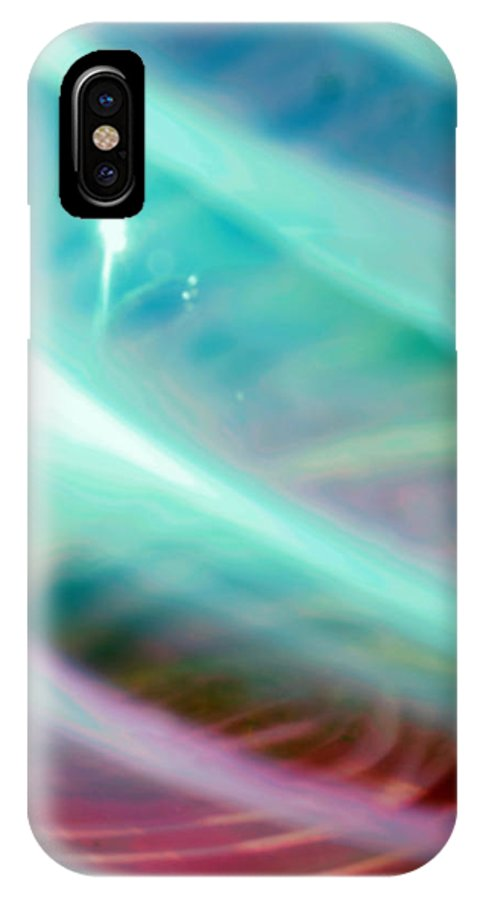 Digital Art IPhone X Case featuring the photograph Fantasy Storm by Scott Wyatt