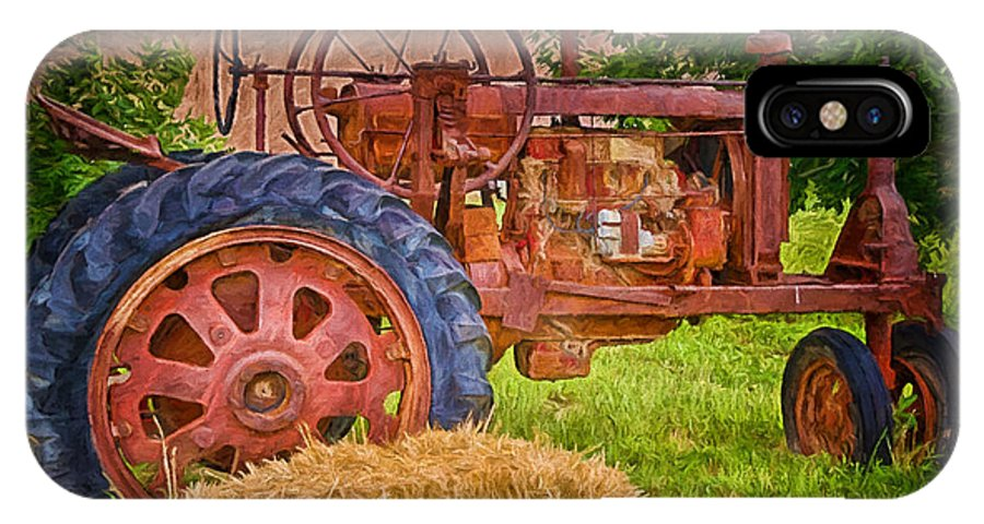 Farming In Hanksville Utah IPhone X / XS Case featuring the photograph Farming In Hanksville Utah by Priscilla Burgers