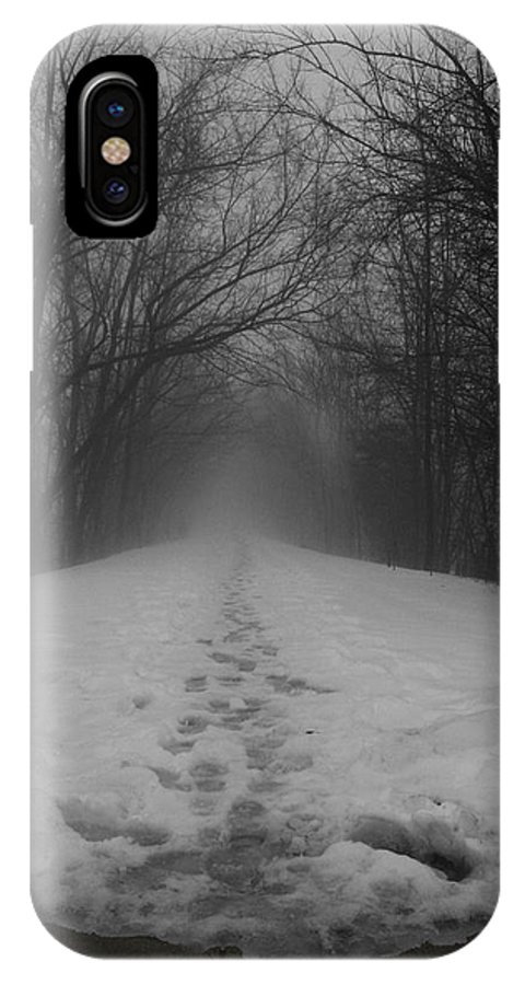 Landscape IPhone X Case featuring the photograph Fear by Dylan Punke