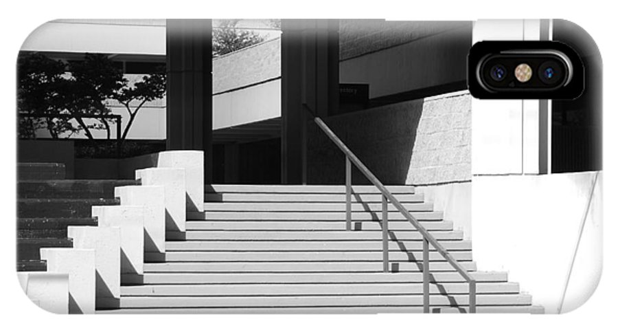 Architecture IPhone X Case featuring the photograph Federal Stairs by Rob Hans