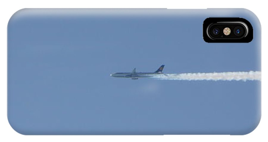Plane IPhone X Case featuring the photograph Fellow Plane by Valerie Ornstein