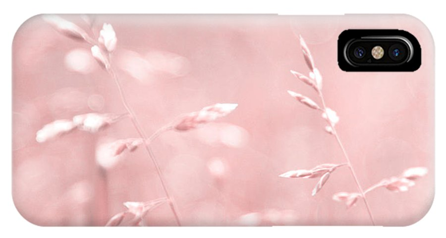 Pink IPhone X Case featuring the photograph Femina 02 - Square by Aimelle