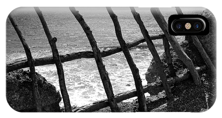 Atlantic Ocean IPhone Case featuring the photograph Fence by Gaspar Avila