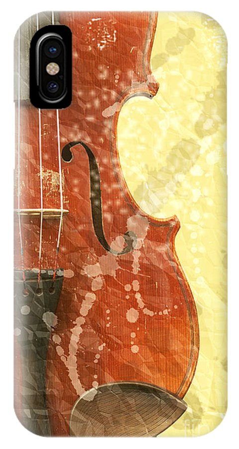 Fiddle IPhone X Case featuring the photograph Fiddle by Michal Boubin