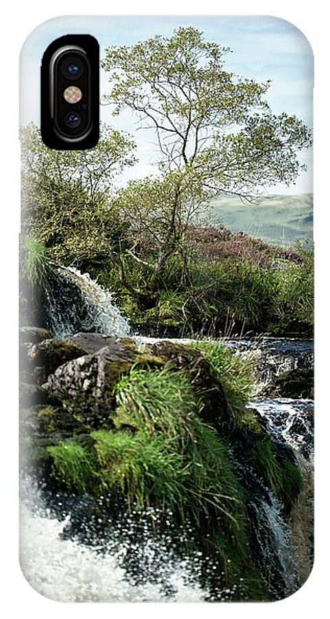 Landscape IPhone X Case featuring the photograph Fintry Loupe by John Fotheringham