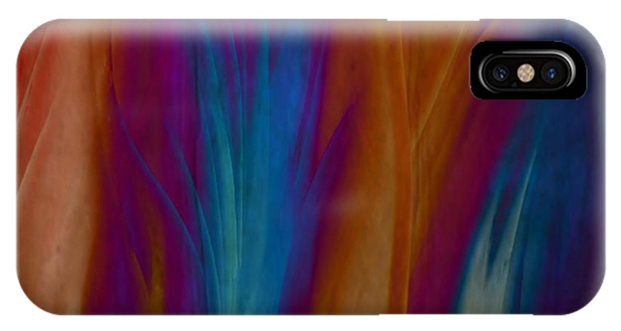 Acrylics IPhone Case featuring the painting Fire Dance by Gina Lee Manley