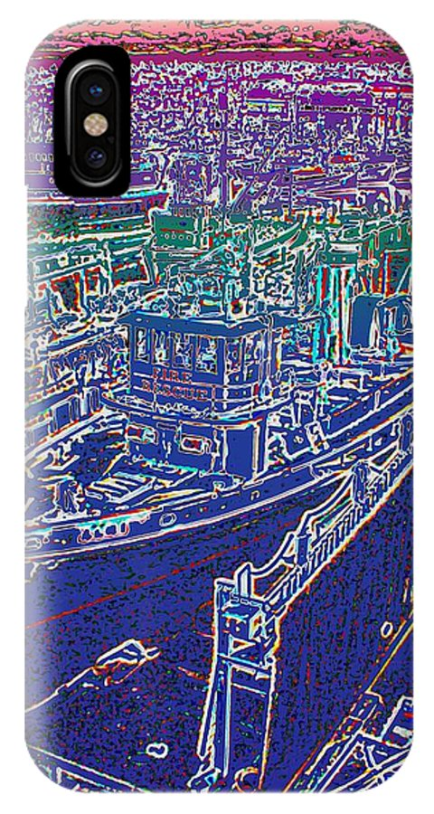 Seattle IPhone X Case featuring the photograph Fire Rescue 2 by Tim Allen